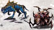 Scrapped Mutant Concept Art