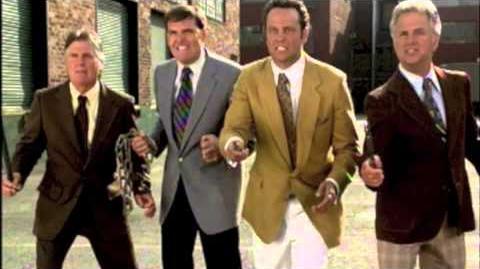 Anchorman Clip News Team Fight (Full Scene)