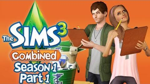 Let's Play The Sims 3 Combined - S1 P1 - (University Life)-0