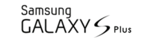 File:Samsung Galaxy S Plus logo.PNG