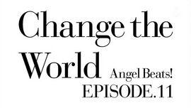 Angel Beats Ep 11