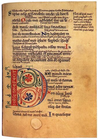 File:12th-century painters - Psalter with the Gloss - WGA15733.jpg