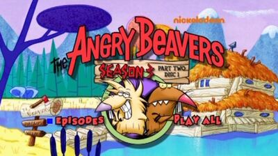 Season 3, Part Two Disc 1 - DVD menu