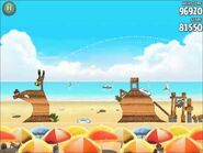 Official Angry Birds Rio Walkthrough Beach Volley 6-2