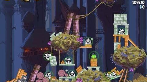 Angry Birds Star Wars 5-26 Moon of Endor 3 Star Walkthrough