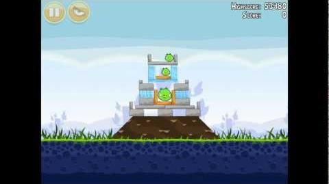 Angry Birds Poached Eggs 1-13 Walkthrough 3 Star