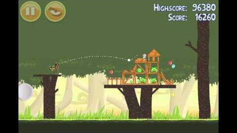 Angry Birds Golden Egg 10 Walkthrough