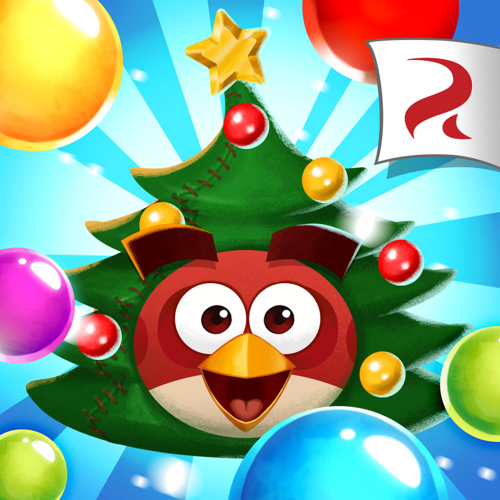 Image - Angry Birds POP Square Icon (Christmas).png | Angry Birds ...