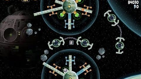 Angry Birds Star Wars 6-7 Death Star 2 Walkthrough 3 Stars