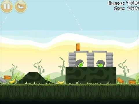 Official Angry Birds Walkthrough Poached Eggs 2-19