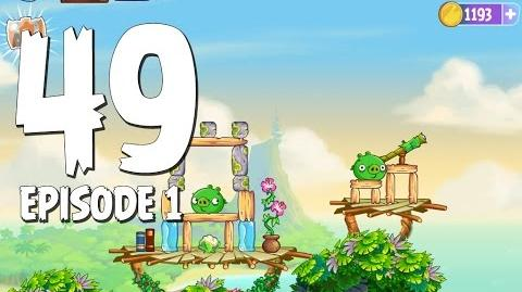 Angry Birds Stella Level 49 Walkthrough Branch Out Episode 1