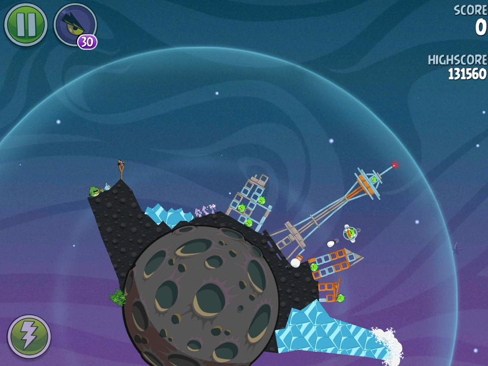 angry birds space lunar launcher - photo #28