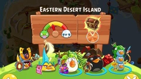 Angry Birds Epic Eastern Desert Island Walkthrough