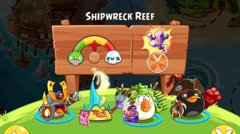 Angry Birds Epic Shipwreck Reef Walkthrough