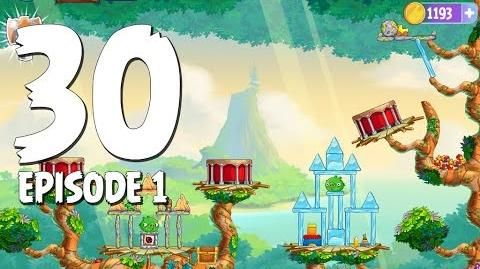 Angry Birds Stella Level 30 Walkthrough Branch Out Episode 1