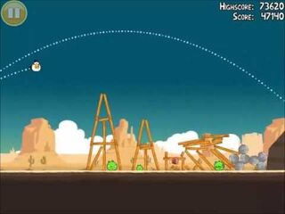Official Angry Birds Walkthrough Ham 'Em High 12-14