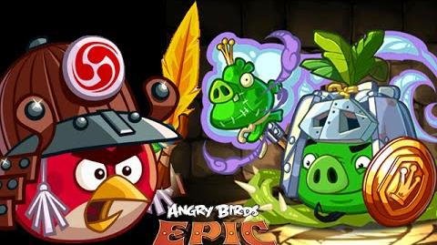 Angry Birds Epic- Cave 10 Final Boss KNIGHT Of LIGHT - CITADEL 10 - Walkthrough