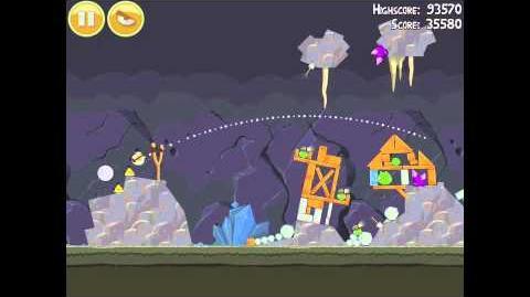 Angry Birds 17-12 Mine & Dine 3 Star Walkthrough