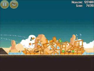Official Angry Birds Walkthrough Ham 'Em High 13-15