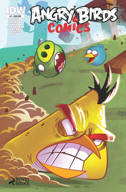 Angry birds comics -7 sub ver cover