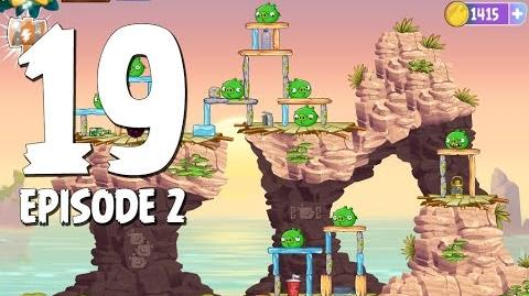 Angry Birds Stella Level 19 Episode 2 Beach Day Walkthrough
