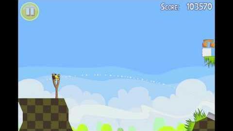 Angry Birds Seasons Easter Eggs Level 15 Walkthrough 3 Star