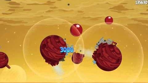 Angry Birds Space Red Planet Bonus Level S-13 Walkthrough