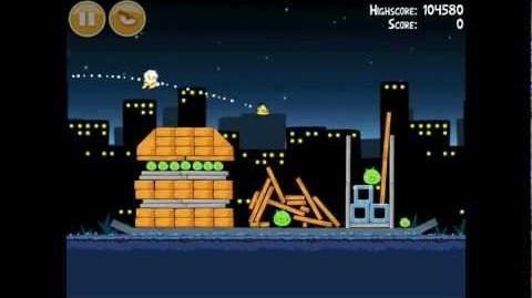 Angry Birds Danger Above 7-7 Walkthrough 3 Star