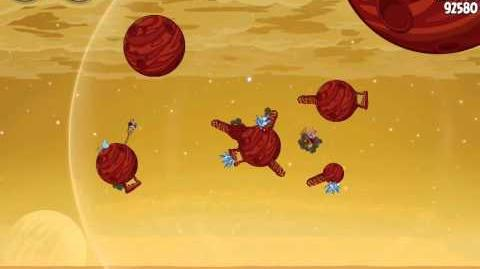 Angry Birds Space Red Planet 5-10 Walkthrough 3-Star