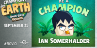 Ian Somerhalder Bird