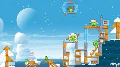 Angry Birds Seasons Arctic Eggspedition 1-18 Walkthrough 3 Star