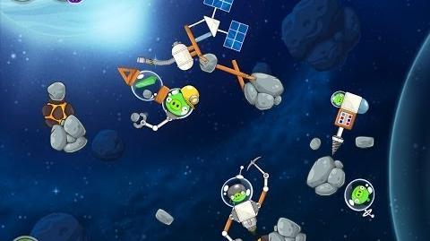 Angry Birds Space Beak Impact 8-12 Walkthrough 3 Star