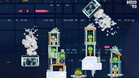 Angry Birds Star Wars 4-30 Cloud City 3 Star Walkthrough
