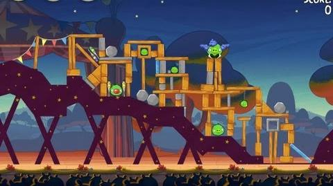 Angry Birds Seasons Abra-ca-Bacon 2-8 Walkthrough 3-Star