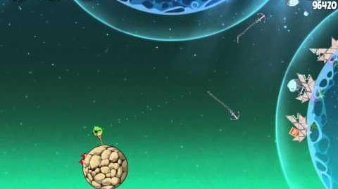 Angry Birds Space Pig Dipper 6-10 Walkthrough 3-Star