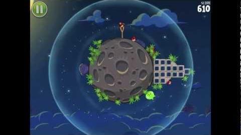 Angry Birds Space Pig Bang 1-3 Walkthrough 3-star