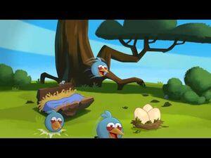 "Angry Birds Toons episode 42 sneak peek ""Hiccups"""
