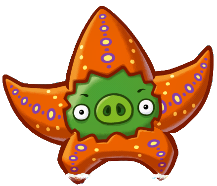 File:Angry Birds Fight! - Monster Pigs - Seastar Pig.png