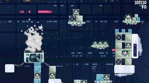 Angry Birds Star Wars 4-38 Cloud City 3 Star Walkthrough