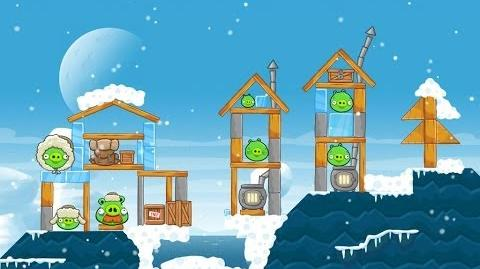 Angry Birds Seasons Arctic Eggspedition 1-19 Walkthrough 3 Star