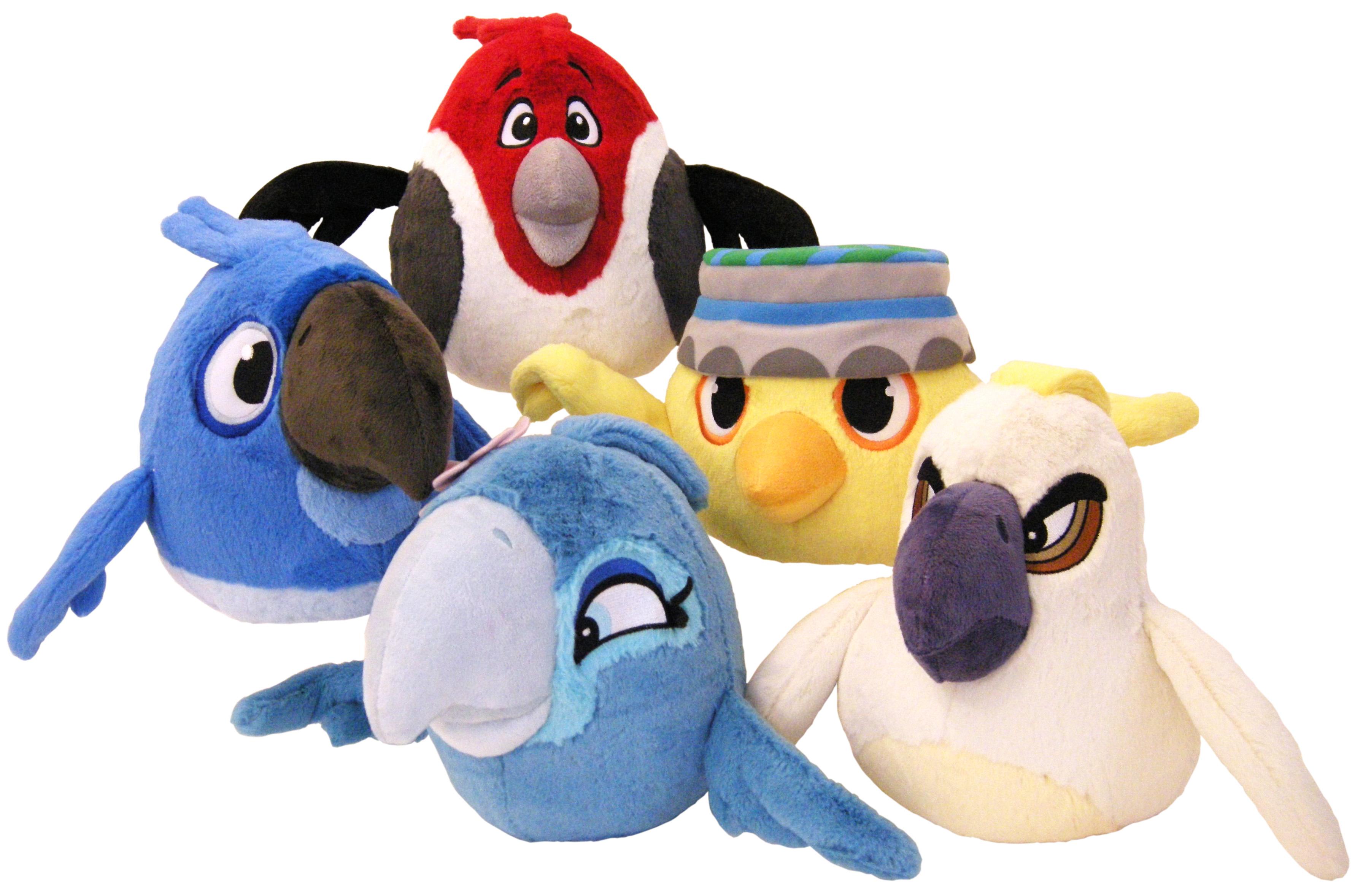 File:Angry birds rio plush toys.jpg