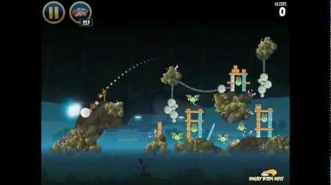 Angry Birds Star Wars 3-32 Hoth 3-Star Walkthrough