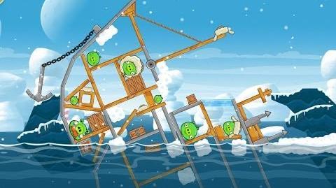 Angry Birds Seasons Arctic Eggspedition 1-22 Walkthrough 3 Star