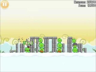 Official Angry Birds Walkthrough Danger Above 8-1