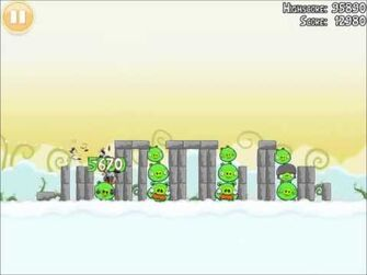 Official Angry Birds Walkthrough Danger Above 8-1