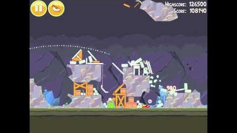 Angry Birds 17-10 Mine & Dine 3 Star Walkthrough