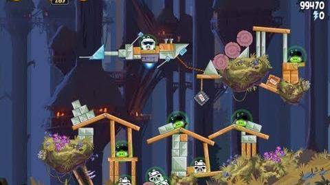 Angry Birds Star Wars 5-22 Moon of Endor 3 Star Walkthrough