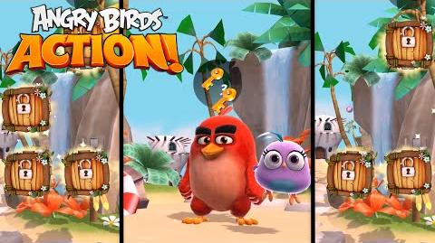 Angry Birds Action! - Hatchlings Movie Magic (DVD Blu-Ray)