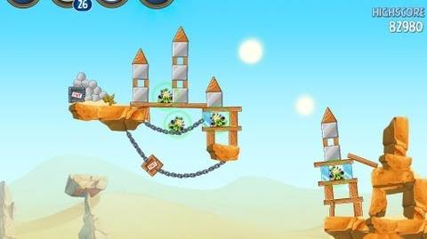 Angry Birds Star Wars 2 Level B2-5 Escape To Tatooine 3 star Walkthrough