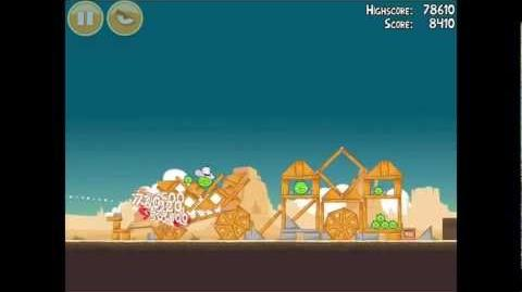 Angry Birds Ham 'em High 12-5 Walkthrough 3 Star